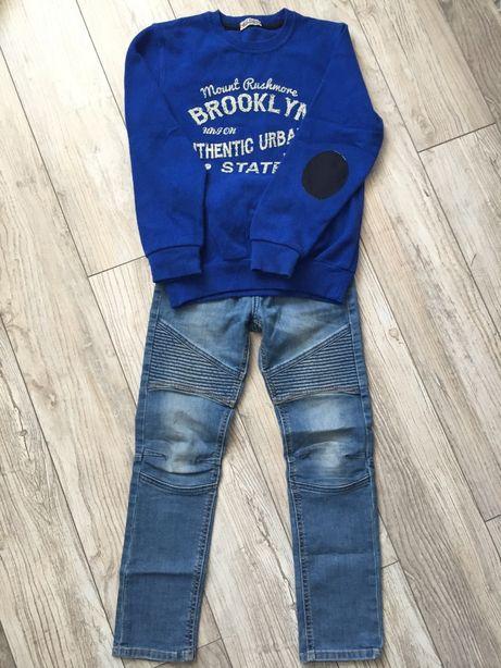 Bluza r. 140 i spodnie r. 140 H&M