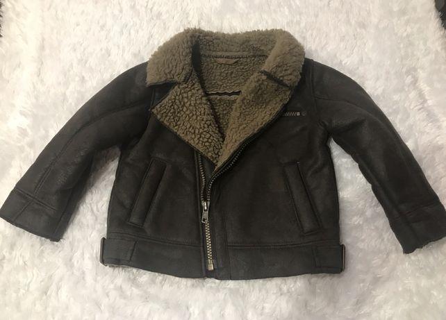 Куртка—дублянка ,косуха  на  маленького модника1,5-2рочків,ріст-92см