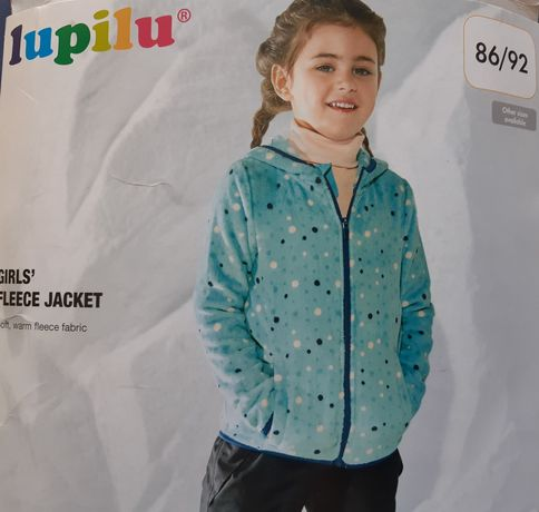 Pepco боди для девочки / Lupilu флисовая кофта 86 / 92