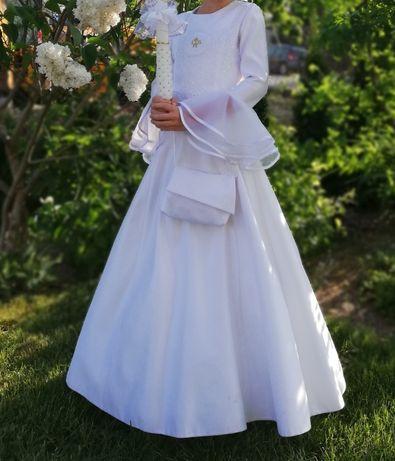 Sukienko-Alba używana 140 cm plus bolerko