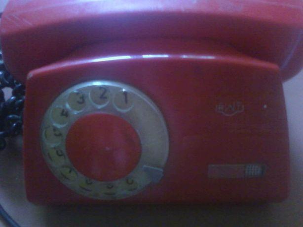 Винтажный дисковый телефон RWT Польша