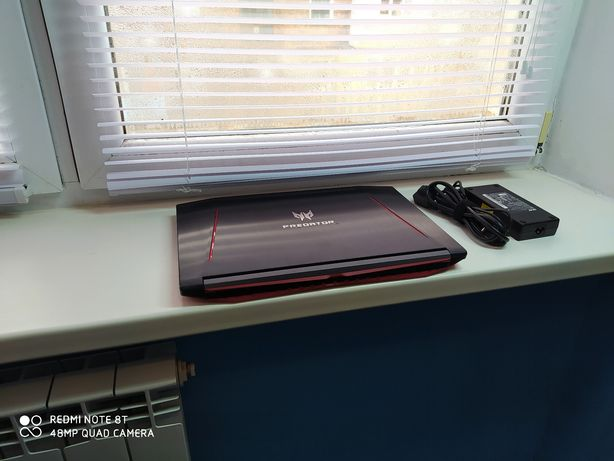 Ігровий ноутбук Acer Predator Helios 300 i7 7700, GTX1060 6GB,ОЗУ 16GB