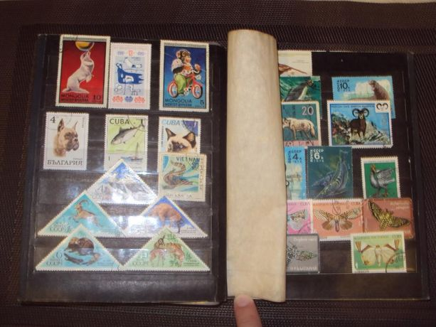 Марки. Коллекция марок.