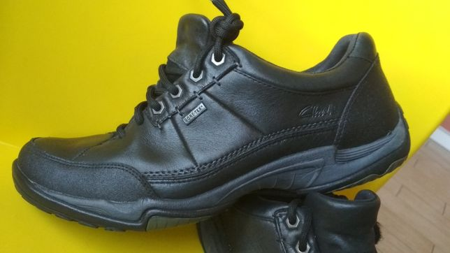 Кроссовки туфли Clarks Ecco Gore-tex кожаные