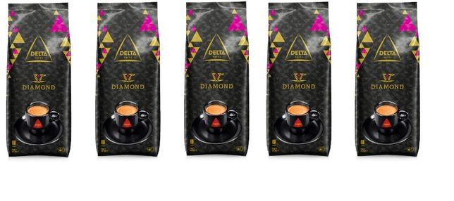 5kg Delta Diamante em Grão café premiun o melhor preço