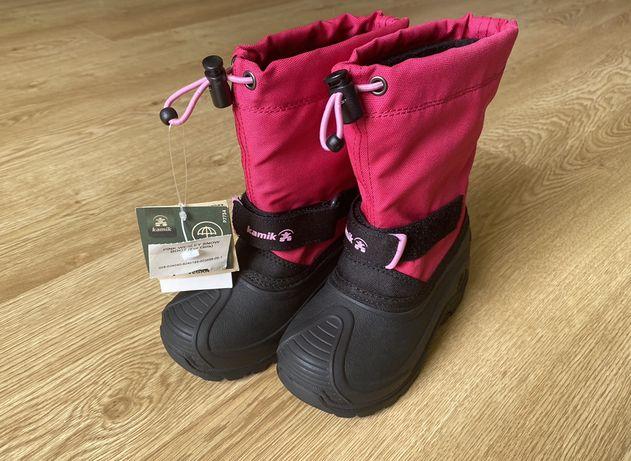 Зимние сапоги ботинки детские Kamik Sorel Adidas зимові термо сапожки