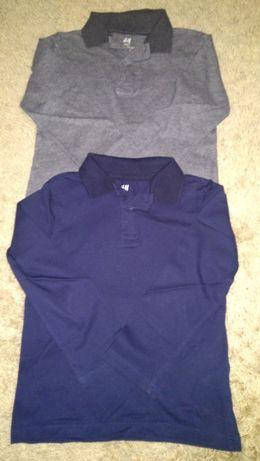 H&M dwie bluzeczki polo 98/104
