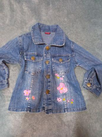 Bluza jeansowa r.92-98