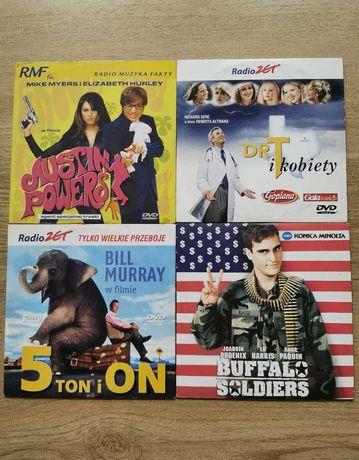 Filmy DVD różne - 2 zł /szt