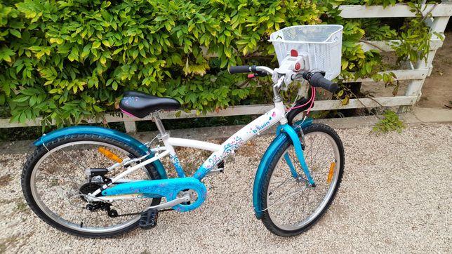 Bicicleta criança/ menina roda 24 9-12 anos