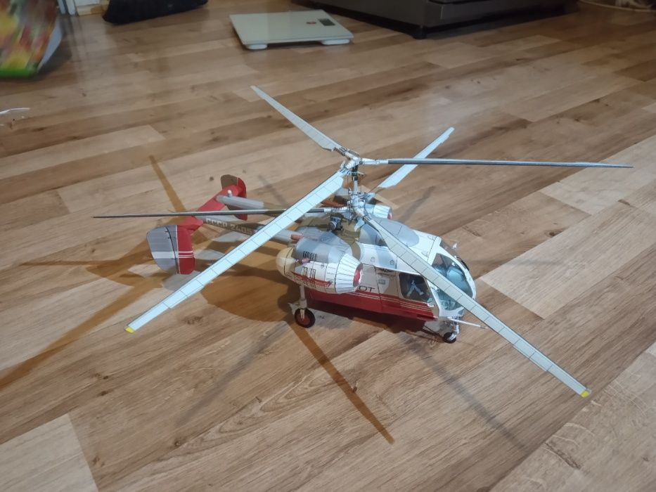 model kartonowy śmigłowca Gilowice - image 1