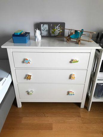 Cómoda IKEA HEMNES com 3 Gavetas para Quarto de Criança