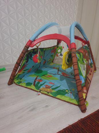 Розвиваючий килимок Развивающий коврик Tiny love Лісовий будиночок