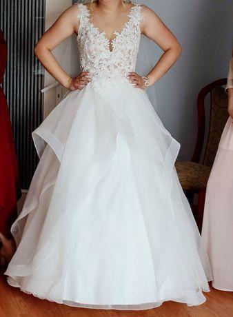 Suknia ślubna na miare:)