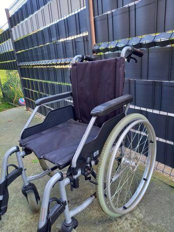 Sprzedam wózek inwalidzki + balkonik oraz inne Stan jak nowe
