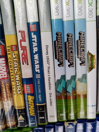 Minecraft gry dla dzieci Xbox360 kinect lego