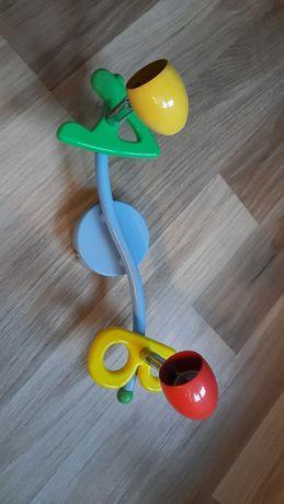 Lampa ABC dla dziecka sufitowa, ścienna 2 reflektorki