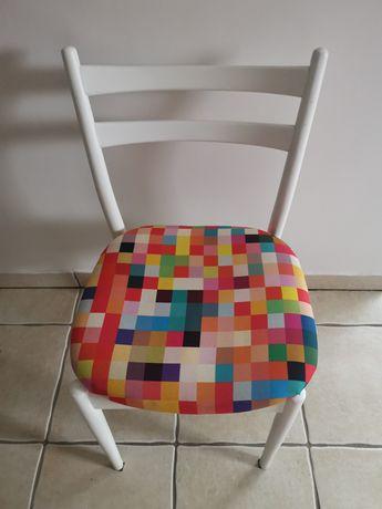 Krzesło PRL vintage odnowione