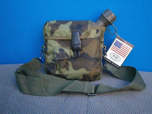 Фляга US bottle 1,89 л армійська американського типу з чохлом, MFH