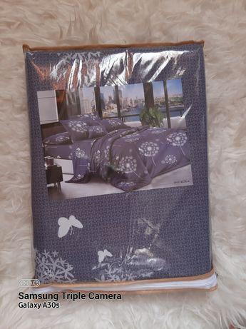 Двухспальный комплект постельного белья новый