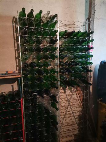 3 Garrafeiras de 100 garrafas cada