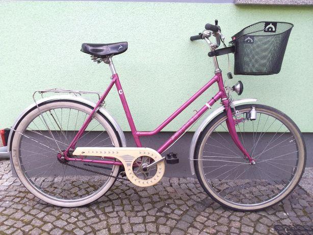 """Rower miejski, damski, damka, koło 26"""", prod. Niemieckiej, 3 biegi."""