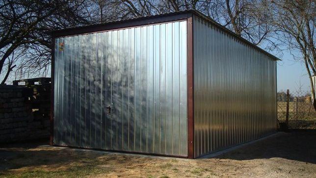 Garaż blaszany 3x5 z bramą uchylną. garaż garaże metalowe