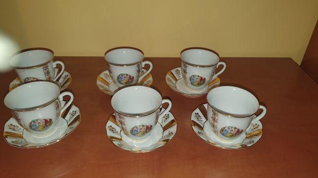 Porcelana Bohemia zestaw kawowy