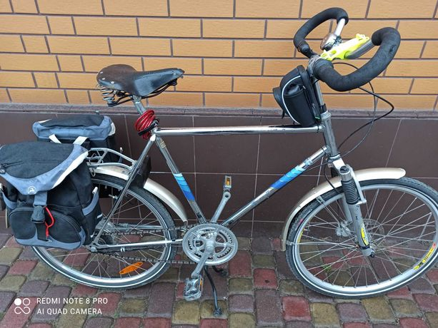 велосипед ТУРИНГ!!! OFROAD NIROSTA  cr-mo
