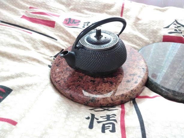 Чайник, Япония,Чугун,Кухня,Интерьер,Подставка под горячее, Чай,Камень!