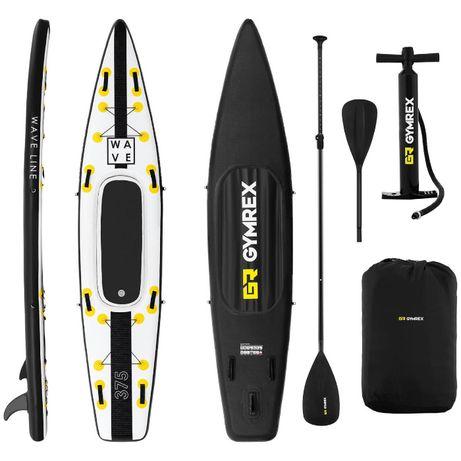 Deska do pływania SUP pompowana z akcesoriami Wave Line 120 kg