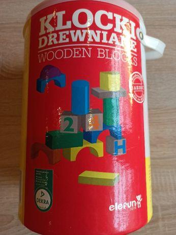 Klocki drewniane Wooden Blocks 100 szt