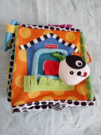 FISHER PRICE zabawka kostka sensoryczna