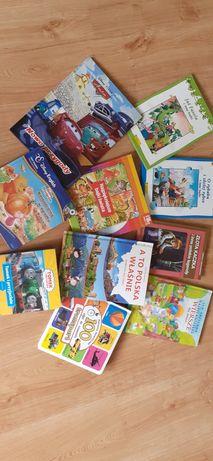 Książki dla dzieci KOMPLET 15zł Tomk i przyjaciele,Kubuś Puchatek,Auta