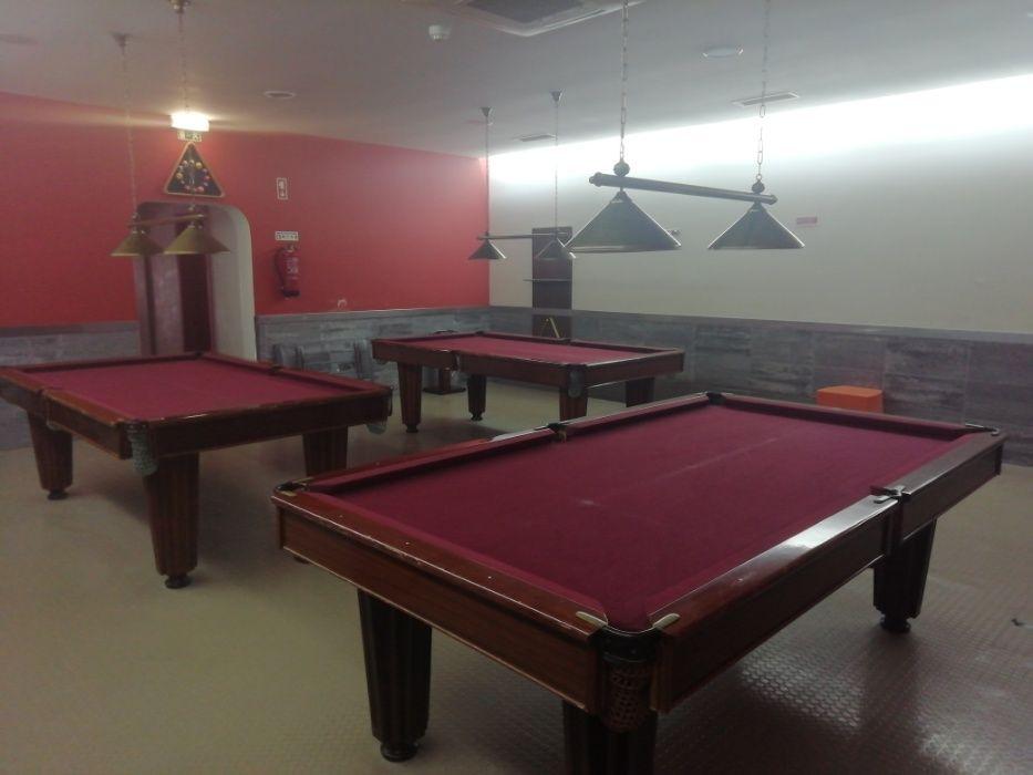 Snookers/Bilhares usados c/ Transporte e Montagem incluídos Pinhal Novo - imagem 1