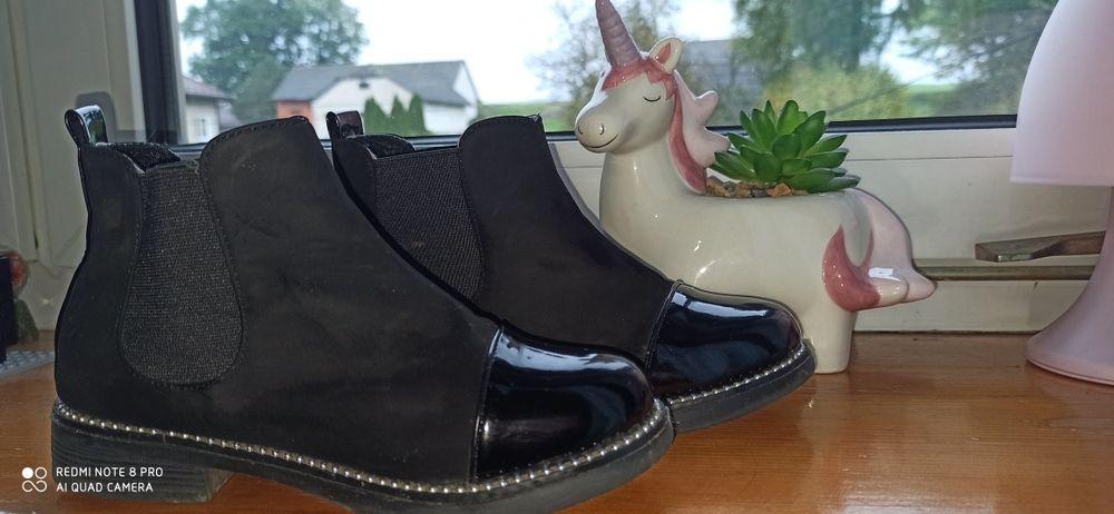 Buty dla dziewczynki 34 Wolbrom - image 1