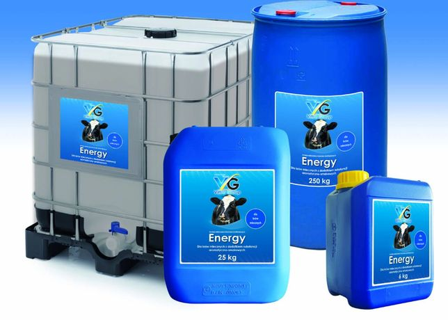 ENERGY Gliceryna Preparat energetyczno-witaminowy dla krów 25 kg