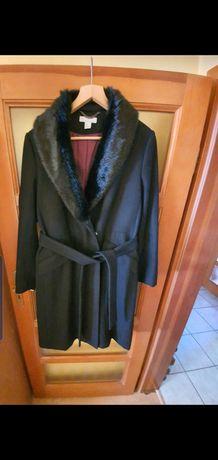 ZARA czarny płaszcz  nowy XL