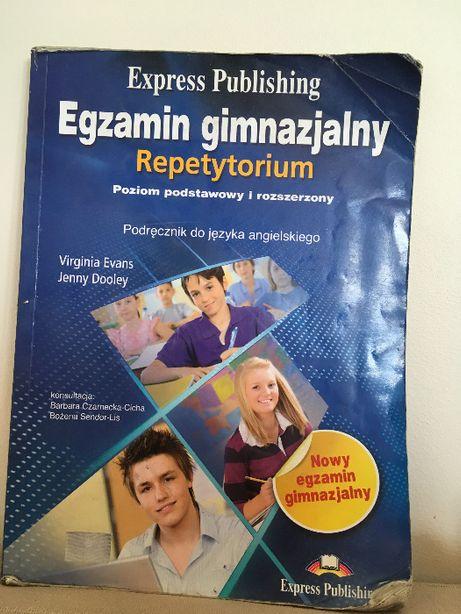 "Książka Express Publishing ""Egzamin gimnazjalny. Repetytorium"". J. Ang"