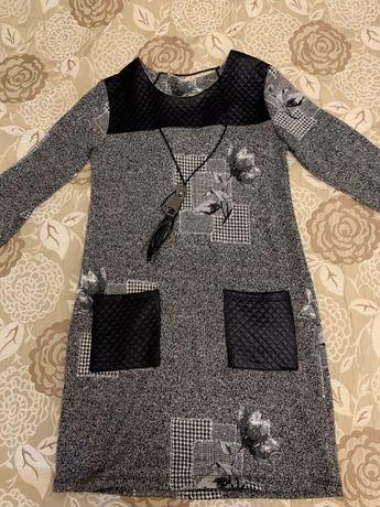 Отличное платье, одето пару раз, 152р, Турция