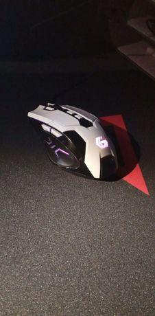 Myszka Przewodowa Gameingowa MUSG-04 + podkładka Genesis