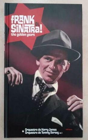 "Livro + 2 CDs do Frank Sinatra ""The Golden Years"""