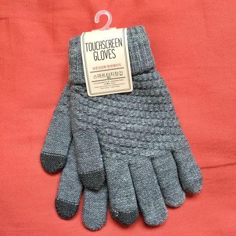 Зимние перчатки/варежкии для телефона