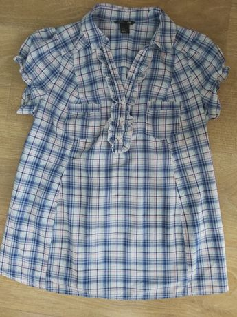 Bluzka ciążowa H&M w kratę rozm. M