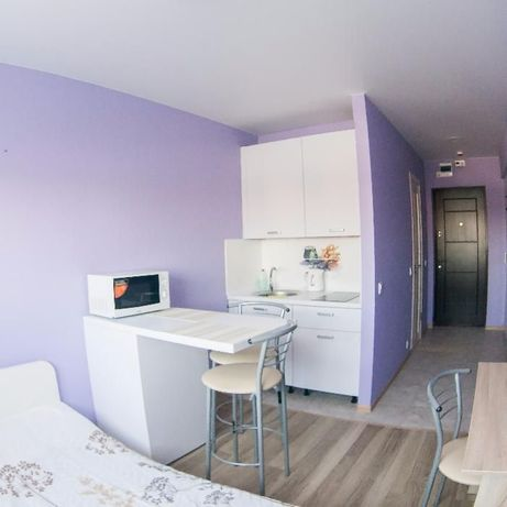 1 комнатные апартаменты посуточно, м. Берестейская