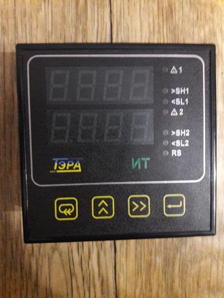 Двухканальный измеритель температуры Тэра Б-ИТ-2УН-Э3А-rsm-2И