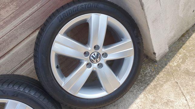 Koła felgi aluminiowe Vw Volkswagen Golf Touran Passat VII B8 Bdb 1T0