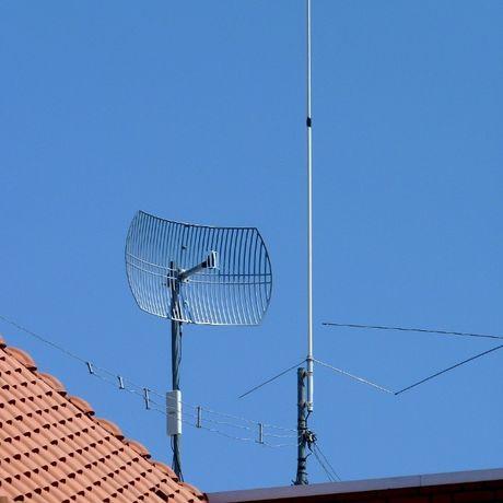 Продам мощную наружную Wi-Fi антенну Bullet2 27dBi (можно без PoE)