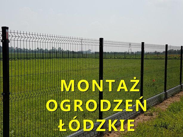 Montaż ogrodzeń panelowych kompleksowo juz od 68 zł mb do końca LUTEGO