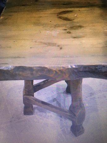 Stół barowy lite drewno ława bar 70